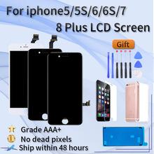 Dla iphone 6G montaż ekranu lcd AAA + klasa dla iphone 5S 5G 6G 6S dla iphone 7G 7Plus 8G 8Plus montaż ekranu lcd tanie tanio Chuang Ya heyday NONE CN (pochodzenie) Pojemnościowy ekran 1334x750 3 LCD i ekran dotykowy Digitizer Apple iphone Iphone 6 s