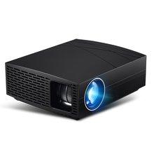 F20UP микро-Порционный мини 1080p проектор HD светодиодный мультимедийный беспроводной проектор USB пульт дистанционного управления черный портативный