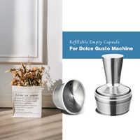 Cápsulas Reutilizables de acero inoxidable Nescafe Dolce Gusto, Capsula de Metal Dolce Gusto, 500 veces, Capsulas Reutilizables
