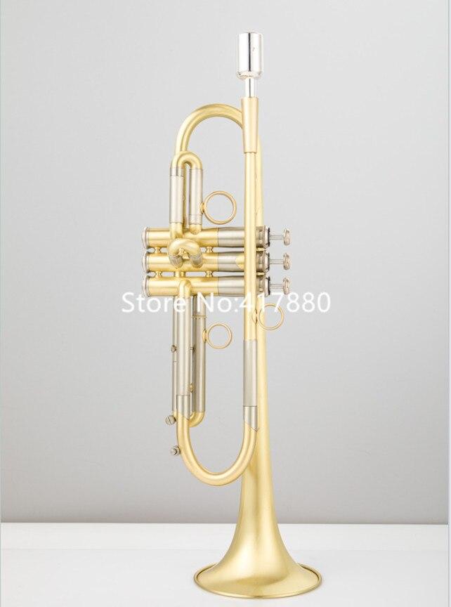 Bb Труба с латунным покрытием реальные фотографии Профессиональный альт саксофон музыкальные инструменты с Чехол Бесплатная доставка