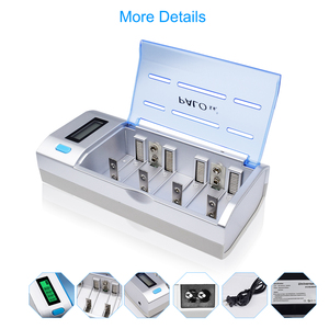 Image 4 - Chargeur de batterie intelligent LCD rapide pour batterie rechargeable 1.2V NI MH nimh ni mh NI CD AA / AAA / C / D SC / 9V 6F22