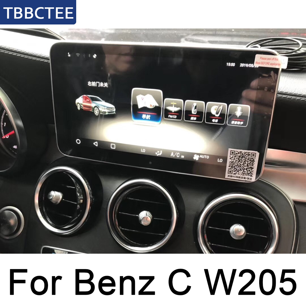 <font><b>For</b></font> <font><b>Mercedes</b></font> Benz C Class W205 2015~<font><b>2019</b></font> NTG Android Car radio GPS multimedia player Navigation HD Screen WiFi BT Map System image