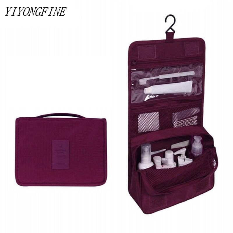 New Travel Set Makeup Bag High Capacity Cosmetic Bags Bathroom Toiletry Bag Women Cosmetic Organizer Pouch Hanging Wash Bags