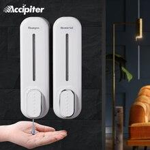 יד Sanitizer מקלחת שמפו Dispenser רכוב משולש פלסטיק סבון נוזלי מתקן מיכל אמבטיה סבון Dispenser קיר