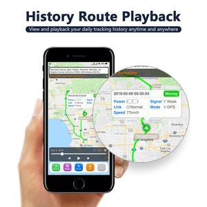 Image 5 - Dispositivo de seguimiento de vehículos GSM GPRS, rastreador GPS de coche, localizador de Monitor, Control remoto, GT02A, para motocicleta, con aplicación gratuita, novedad de ST 901A