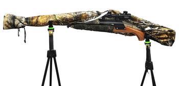 Gun Slicker Scoped Rifle Case, Water Resistance Camo Shotgun Case, Rifle Sleeve Cover Fast Gun Case for Shooting Hunting 4