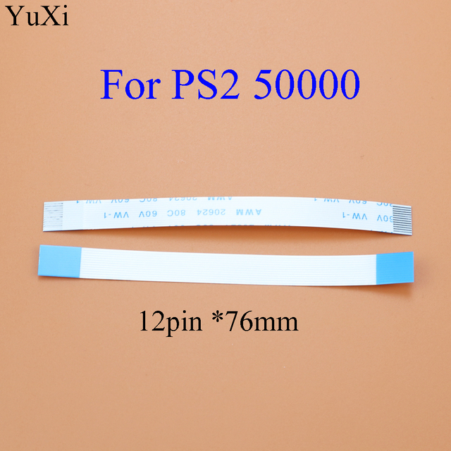 YuXi For PS2 30000 50000 5W 70000 7W 79000 90000 9W  Power Reset Switch Flex Ribon Cable 2