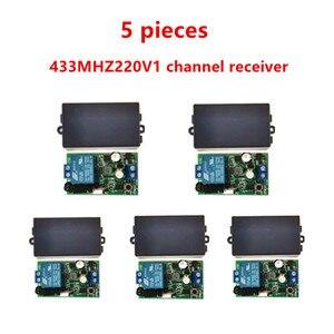 Универсальный беспроводной пульт дистанционного управления 433 МГц, АС. 85 В, 110 В, 220 В, 1CH релейный приемник, Модуль и 433 МГц. EV1527 RF remote