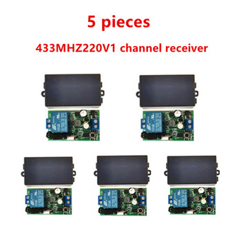 цена на 433MHz universal wireless remote control switch, AC.85 V, 110 V, 220 V, 1CH relay receiver, module and 433 MHz.EV1527 RF remote