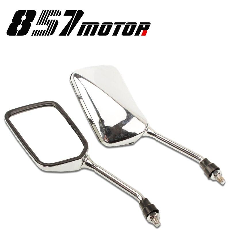 XLV 750 Universal Espejo Retrovisor Pareja Honda CB 500 X Universal Espejo Retrovisor Pareja Moto Honda CM 400 T CB 1 CB 450 S CBF 500 // VTX 1300