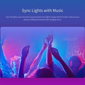 Image 4 - הכי חדש Yeelight RGB LED חכם הנורה 1S צבעוני E27 8.5W 800 לום החכם WiFi אור נורות עבודה עבור אפל Homekit שלט רחוק