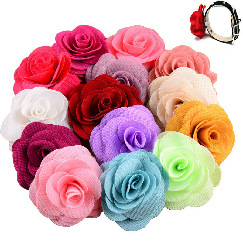 10Pcs Pet Dog Accessories Colorful Mix Style Flower Design Cat Dog Collar Charms Decoration Dog Bow Tie Pet Grooming Accessories