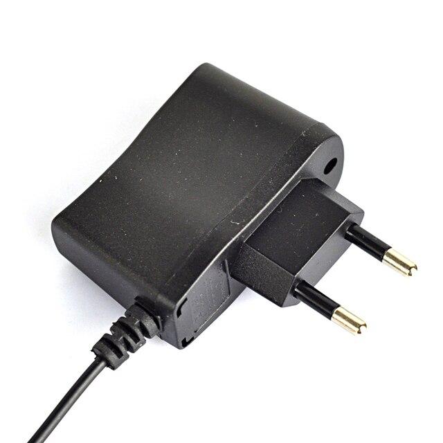 Portable EU US Plug 3.5mm 100-250v 4.2v 500ma Wall Charger For Headlamp Light et