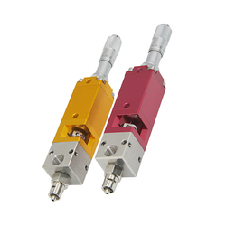 BF-24 Thimble Type Dispensing Valve Micrometer Dispensing Valve Plastic Valve Glue Gun Precision Square Valve Suction Type