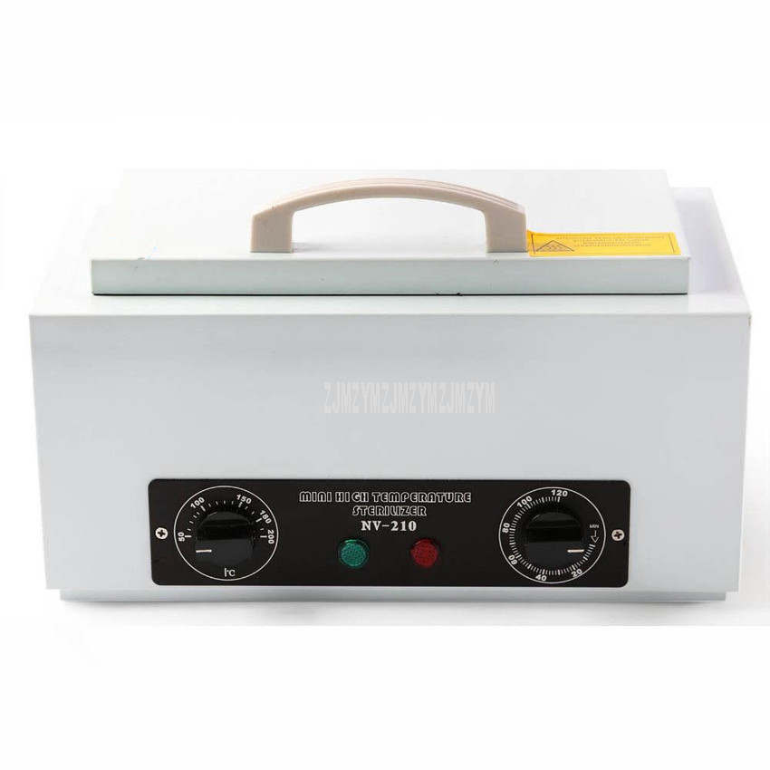 1.5L Portable Mini High Temperature Sterilizer Towel Manicure Tools Disinfection Cabinet Sterilization Cleaning Appliances NV210