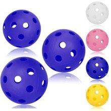 1 шт. высокое качество 70 мм EVA Pickleball надувной прочный мяч для внутренней деятельности
