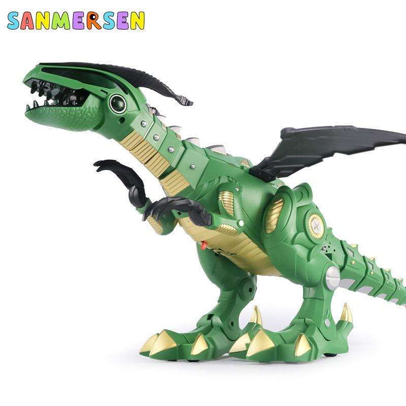 eletronico andando modelo animal dinosaurio juguete robo mecanico pterosaurs 05