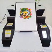 Punehod prix usine UV DTG imprimante à plat A3 taille 6 couleurs Cmyk + WW t-shirt imprimante pour tête d'impression Epson R1390