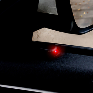 Image 2 - العالمي الشمسية التناظرية لص سيارة تحذير ضوء لبيجو 207 107 بولو رينو كابتور تويوتا aygo أوبل أسترا h bmw f30 e36