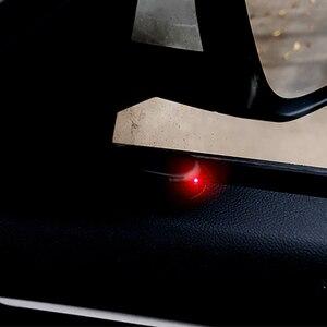 Image 2 - Luz de advertencia de coche antirrobo analógica Solar Universal para peugeot 207, 107, polo, renault, captur, toyota, aygo, opel, astra h, bmw, f30, e36