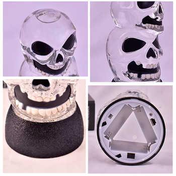 Halloween LED Shining Night Light Horror Glass Skeleton Ghost Hand Goblet Table Lamp Ghost Festival Decor Birthday Gifts