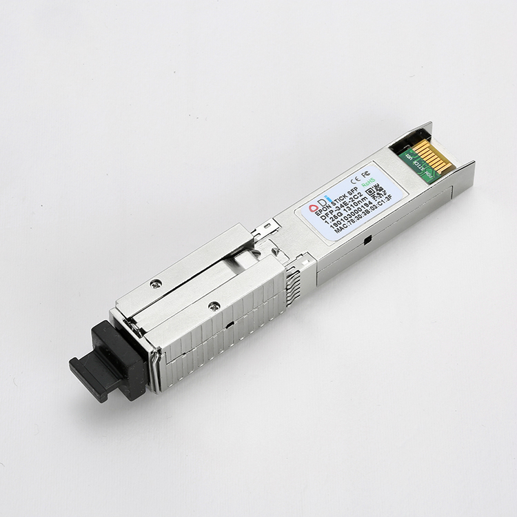 EPON SFP ONU Tx 1310/1490nm 20km SC  MAC Pon ModuleTransceiver Stick With