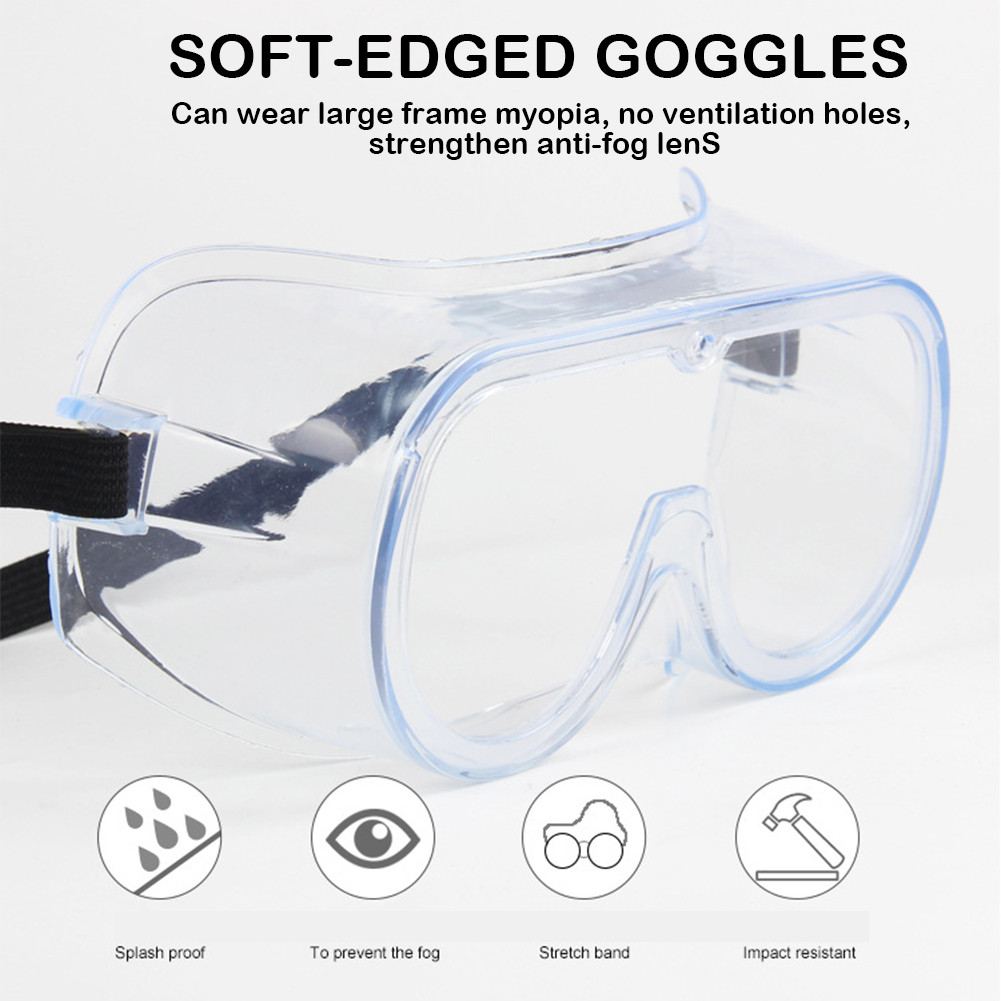 Standard Safety Protective Glasses Windshield Goggles Anti-spatter Anti-fog Dust-proof Protective Riding Glasses For Adult Child