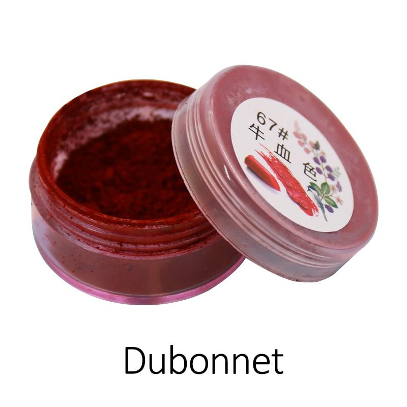 1g Dubonnet Lipstick Powder Lip Gloss Coloring Mica Pearl Powder For Cosmetics Makeup Red Lipstick Pigment Powder Acrylic Paint