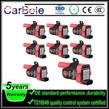 Купить с кэшбэком 8pcs Ignition Coils Plug Pack For Chevrolet GMC Trucks Isuzu Hummer UF262 D585