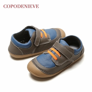 Image 2 - COPODENIEVE Hotsale leather lace up baby shoes Infant Toddler soft soled girls boys moccasins casual First Walkers shoes Spring