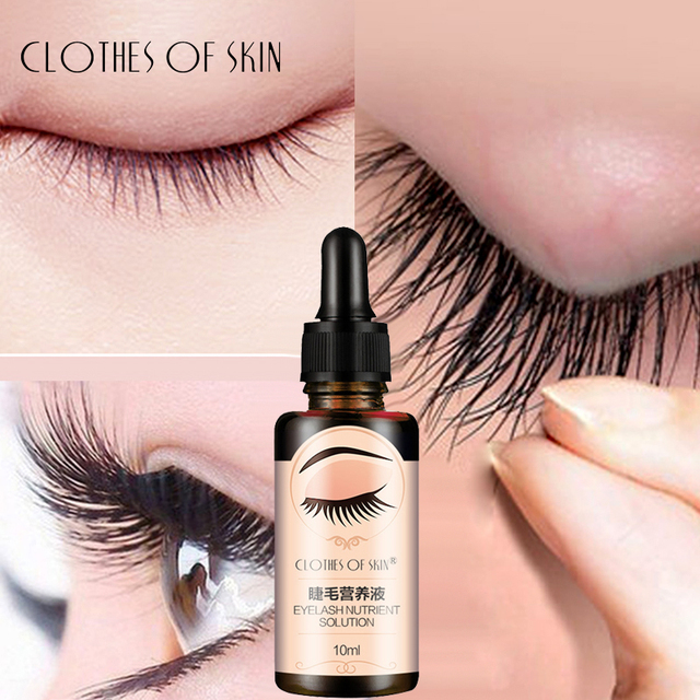 Eyelash Growth Serum Liquid Eyelash Enhancer Vitamin E Treatment lash lift Eyes Lashes Mascara Nourishing Eye CLOTHES OF SKIN 1