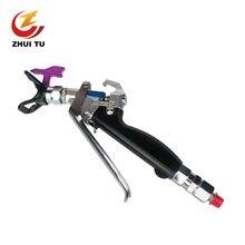 Пистолет распылитель zhui tu 7250psi boutique краскопульт из