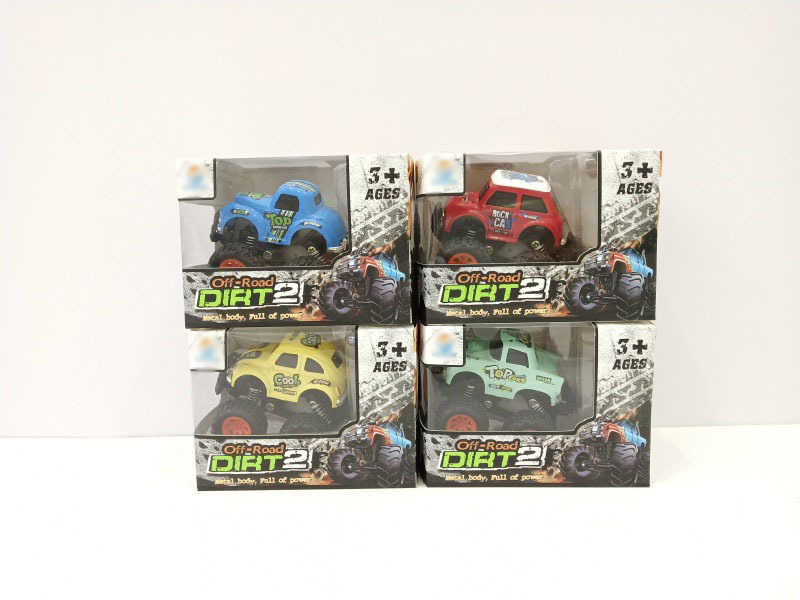 Hot Selling Children Warrior Climbing Car Drop-resistant Four-Wheel Drive Off-road Alloy Car Model Boy Toy Car