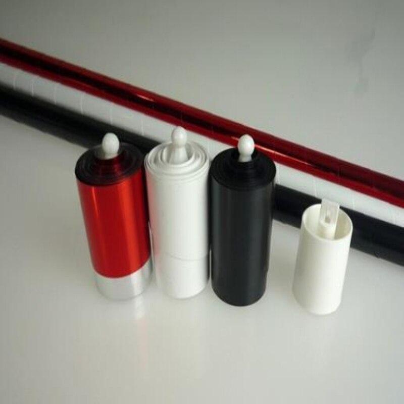 Três cores em mudança de cana (brilhante vermelho-branco-preto) truques de mágica de palco, truques, ilusões, diversão, fácil de fazer vara mágica para seda