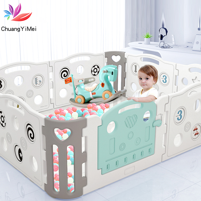 Baby Playpen For Newborn Baby Fence Playpen For Children Pool Balls For Baby Pool Children Playpen Kids Safety Barrier Play Yard