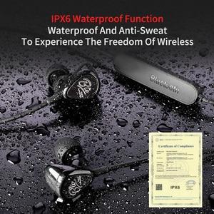 Image 5 - KZ BTE 1DD + 1BA APTX Tai Nghe Nhét Tai Thể Thao Bluetooth/Không Dây Tai Nghe HIFI Bass Tai Nghe Nhét Tai dành cho điện thoại và âm nhạc tai nghe