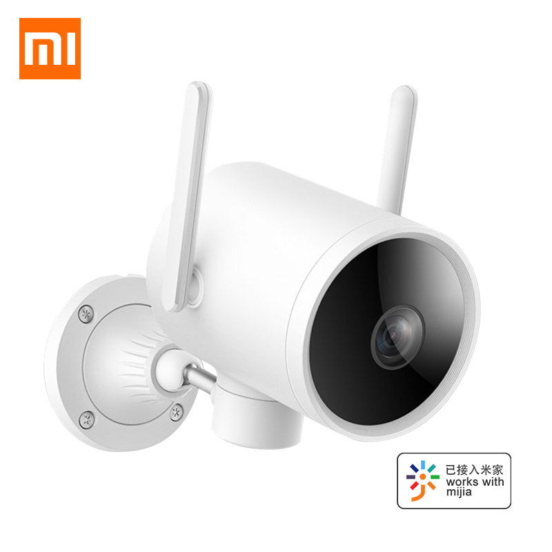 Nouveau Xiao mi IP caméra extérieure intelligente mi Wifi caméra 1080P PTZ webcam IP66 AI H.265 Vision nocturne double antenne Signal mi maison APP