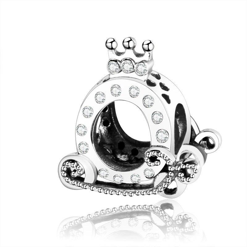 Подходит браслет Pandora Подвески из стерлингового серебра 925 пробы мальчик талисман для девушки Подвеска-бусы DIY ювелирных изделий дизайн Berloque - Цвет: PL01175