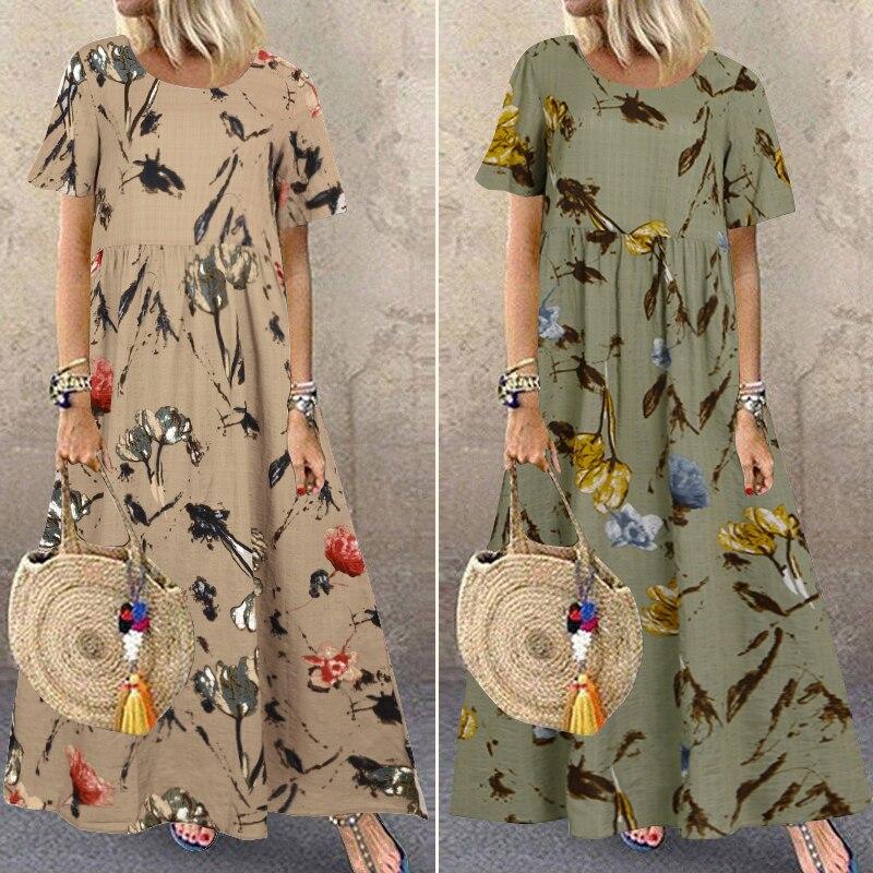 Summer Maxi Dress Women's 2