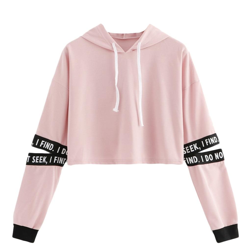 Jaycosin 2020 Fashio Autumn Women Stripe Print Sweatshirt Stylish Long Sleeve Comfortable Casual Chic Pullover Blouse Top 104#10