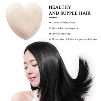 Cuidado del cabello portátil refrescante cuero cabelludo Natural Carbón de bambú Polygonum Multiflorum Herbal Shampoo accesorios cosméticos
