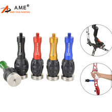 1Pc Archery Bow Stabilizer shock absorbing Weight Ball Damping Bow Riser Handle Balance Bar Silencer Outdoor Shooting Accessory 1pc archery bow stabilizer shock absorbing weight ball damping bow riser handle balance bar silencer outdoor shooting accessory