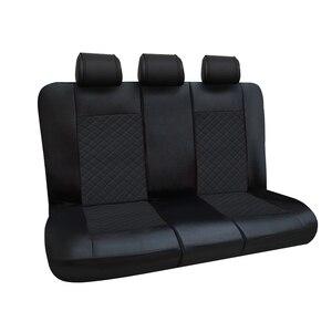 PU кожаный чехол для сиденья автомобиля роскошный универсальный автомобильный салон водонепроницаемый высокое качество кофе черный серый ...