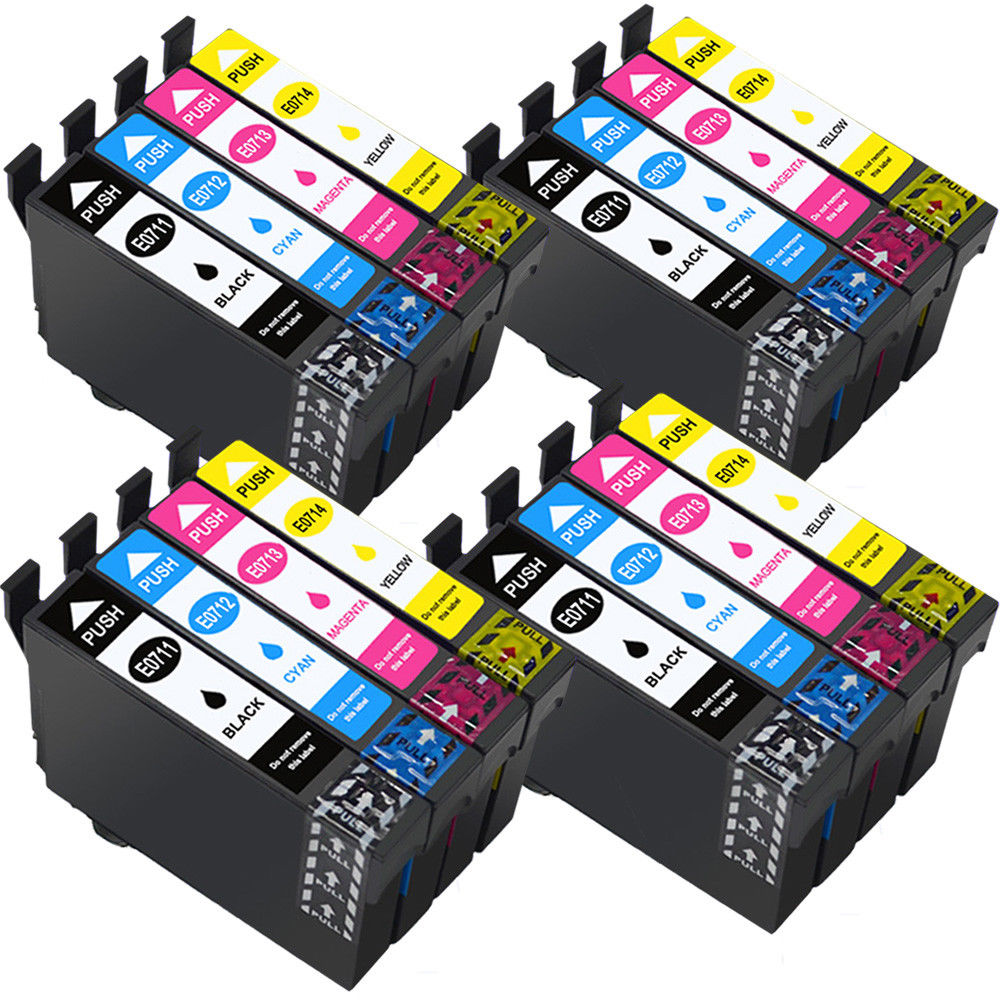 T0891/T0711 T0715 XL Inkjet Cartridge Compatible for <font><b>EPSON</b></font> Stylus SX100 SX105 DX 4000 DX 4050 <font><b>BX300F</b></font> BX600FW printer image