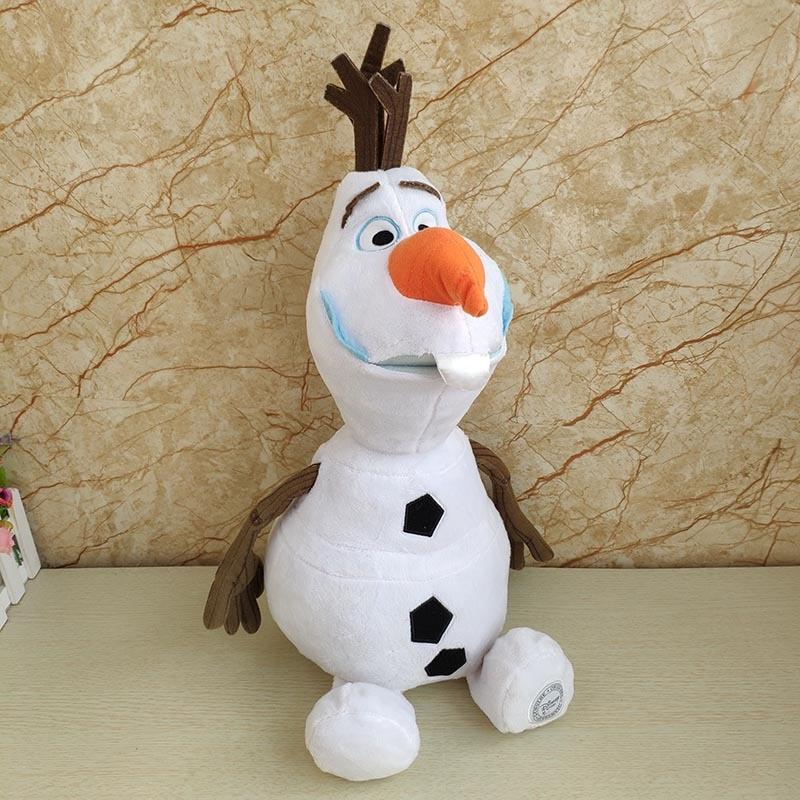 Frozen 2 23cm/30cm/50cm Snowman Olaf Plush Toys Stuffed Plush Dolls Kawaii Soft Stuffed Animals For Kids Christmas Gifts