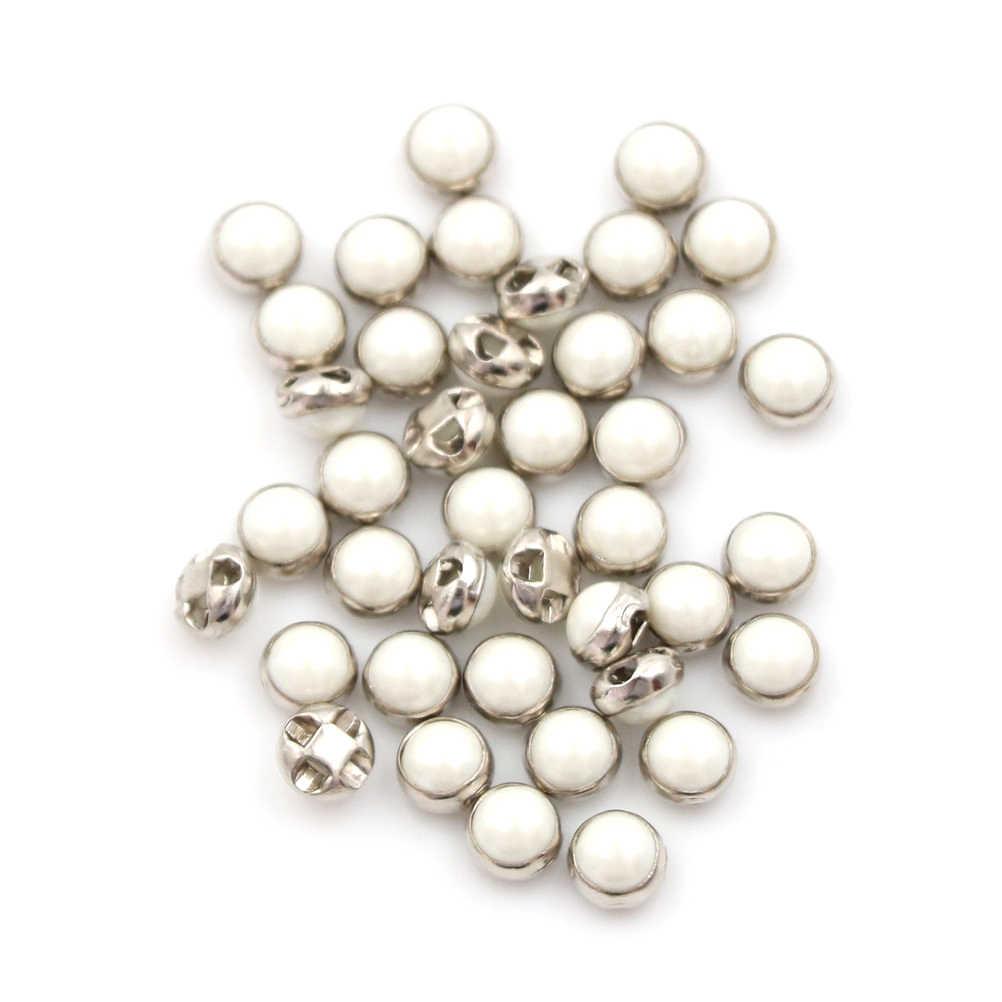 100 pièces argent/or Mini poupée boutons poupée boucle de ceinture Ultra-petite perle boucle poupée chaussures boucle poupée vêtements boucles