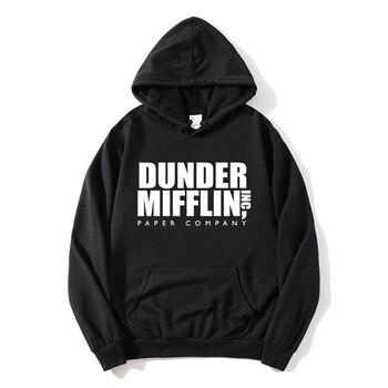 2021 new The Office Sweatshirt Men/Woemn Fleece Hoodies Dunder Mifflin Paper Inc Hoodie Unisex Crewneck Moletom Feminino Hoody 1