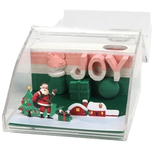 3D Diy Note Paper Art Building Block Memo Notes Pads Convenience Stickers Papers Card Craft Creative Post Crafts