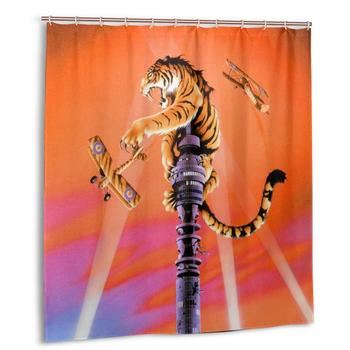 Roger Dean Shower Curtain with Hooks bathroom Waterproof Polyester Fabric