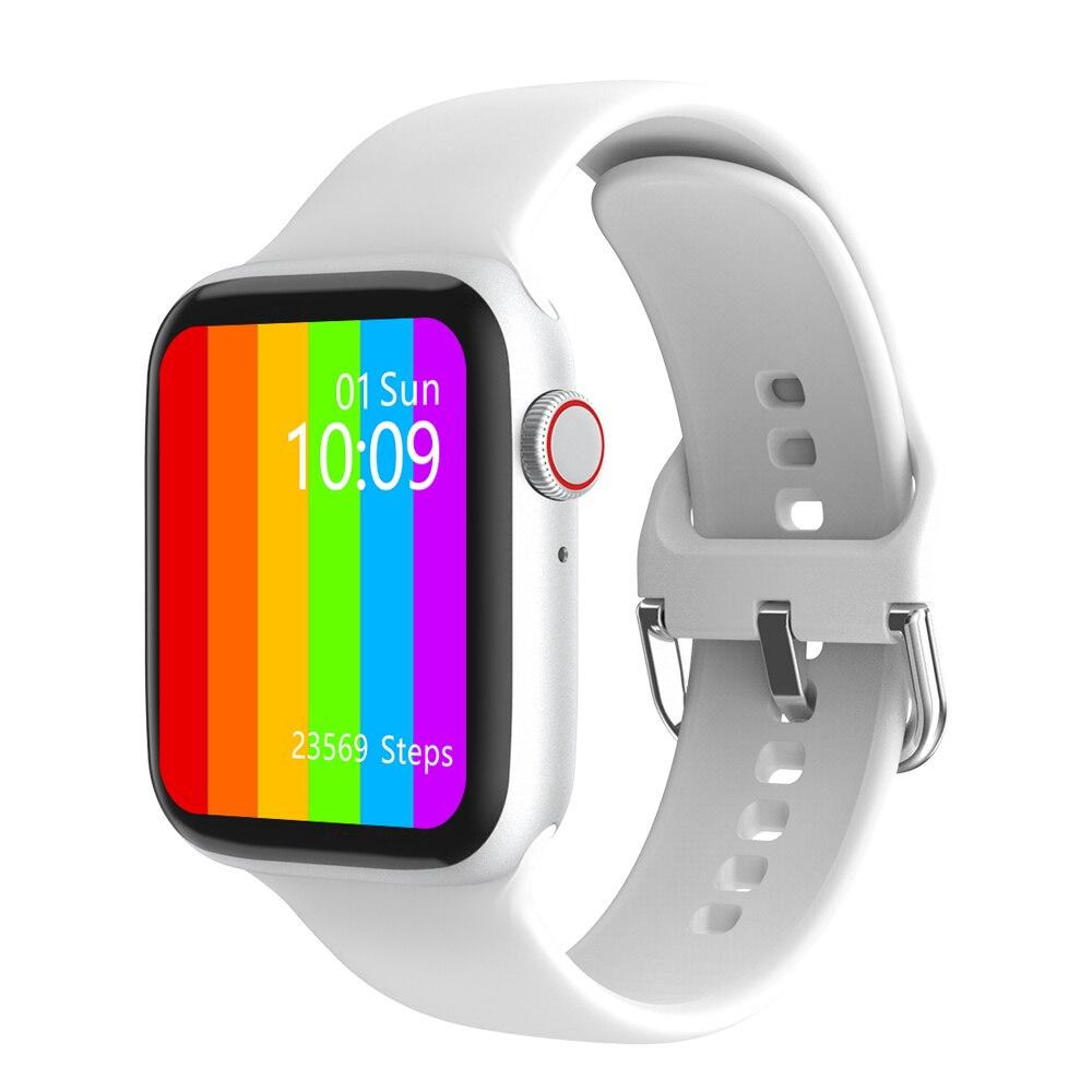 H8a3662a549e34b38b7533f0a3218ae2cA TREZER IWO W26+ Pro Smart Watch 1.75 Inch 320*385 Series 6 IPS Full Touch Screen Custom Watch Face Smartwatch Men Women PK HW22